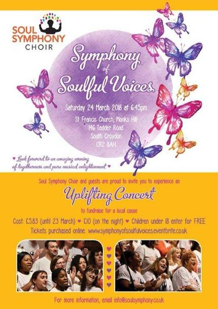 Concert for Sutton Mencap Poster