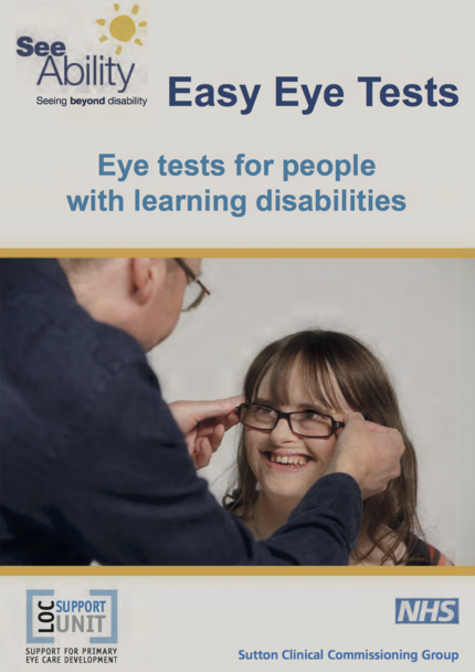 Easy Eye Tests For People With A Learning Disability
